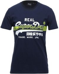 Superdry T-shirt - Blue