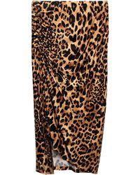 Paco Rabanne 3/4 Length Skirt - Multicolour