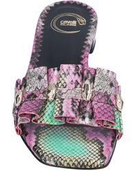 Class Roberto Cavalli Sandals - Purple