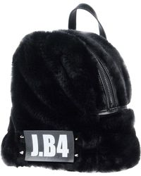 J·B4 JUST BEFORE Backpacks & Bum Bags - Black