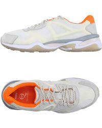 Lyst - Alexander Mcqueen X Puma Joust Lo Iii Leather Sneakers in ... 1aeeadd1f
