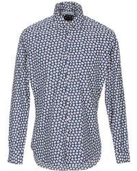 Poggianti Camisa - Azul