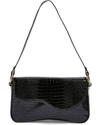 TOPSHOP Remi Croc Shoulder Bag