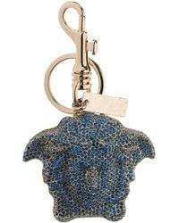 Versace Key Ring - Blue
