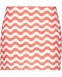 Au Jour Le Jour Mini Skirt - Orange