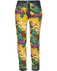 DSquared² Denim Trousers - Yellow