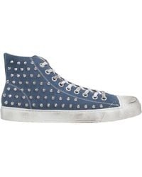 METAL GIENCHI High-tops & Trainers - Blue