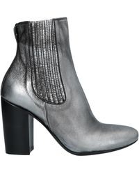 Rocco P Ankle Boots - Metallic