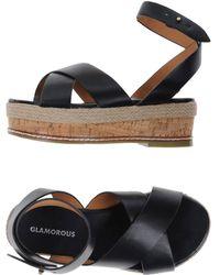 Glamorous Sandals - Black