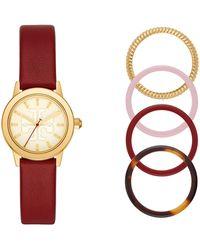 Tory Burch Wrist Watch - Red