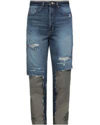 Miharayasuhiro Pantaloni jeans - Blu