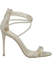 Le Silla Sandals - Metallic