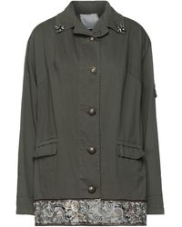 Boutique De La Femme Overcoat - Green