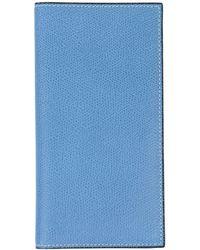 Valextra Billetera - Azul