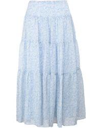 Lauren by Ralph Lauren Long Skirt - Blue