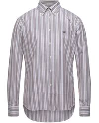 Henry Cotton's Camisa - Gris