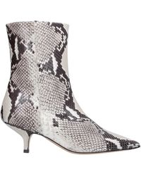 Bruno Magli Ankle Boots - Grey
