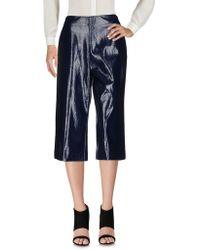 Erika Cavallini Semi Couture - 3/4-length Trousers - Lyst