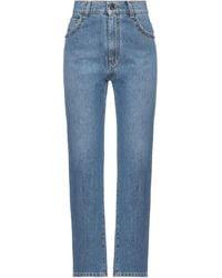Soallure Denim Trousers - Blue