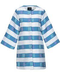 Anonyme Designers Overcoat - Blue
