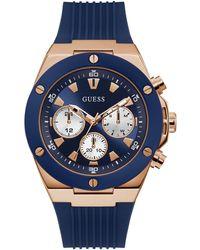 Guess Armbanduhr - Blau