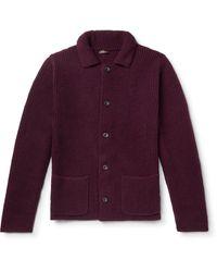 Rubinacci Suit Jacket - Purple