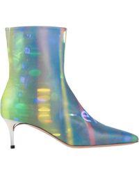 Maison Margiela Ankle Boots - Metallic