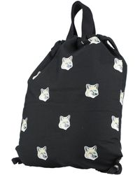 Maison Kitsuné Backpacks & Bum Bags - Black