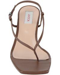 Jucca Toe Post Sandals - Brown