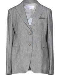 Fabiana Filippi Suit Jacket - Gray