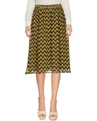 Goldie London - Knee Length Skirts - Lyst
