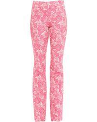 be Blumarine Pantalon - Rose