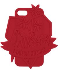 Maison Kitsuné Cover & Hüllen - Rot
