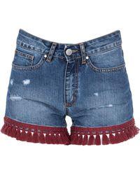 Jijil - Shorts jeans - Lyst