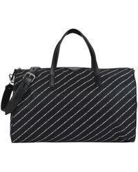 Karl Lagerfeld Travel Duffel Bags - Black