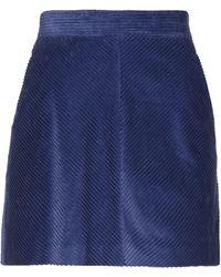 MAX&Co. Mini Skirt - Blue