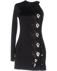 Anthony Vaccarello - Short Dress - Lyst