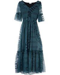 Liu Jo Long Dress - Green