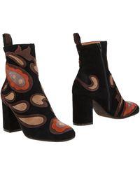 Maliparmi Ankle Boots - Black