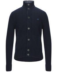 Henry Cotton's Cardigan - Bleu