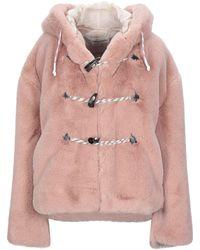 Golden Goose Teddy Coat - Pink