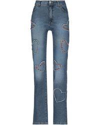 Blumarine Pantalones vaqueros - Azul