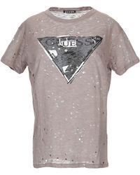 Guess T-shirt - Marron
