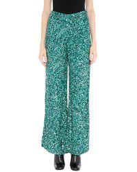 retroféte Pantalon - Vert