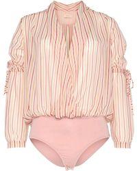 Ottod'Ame Blouse - Pink