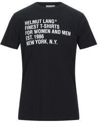 Helmut Lang T-shirt - Black
