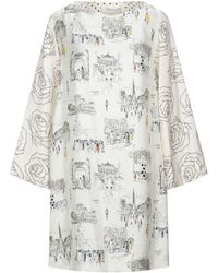 La Prestic Ouiston Robe courte - Blanc