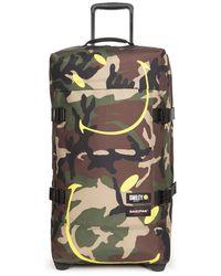 Eastpak Wheeled Luggage - Brown