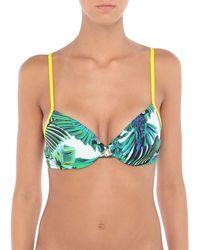 Roberto Cavalli Bikini Top - Green