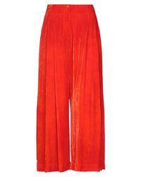 Raquel Allegra Pantalones - Rojo